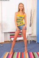 Горячие порно фотографии с русской моделью Abby