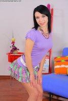 Красивые интим фотки от сайта Double teamed teens с русской красоткой Eva