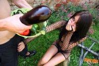 Горячие эротические фото от студии FirstAnalQuest с русской шалавой Roxy(01.08.10)